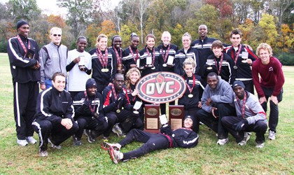 Colonel cross country teams tabbed to win OVC